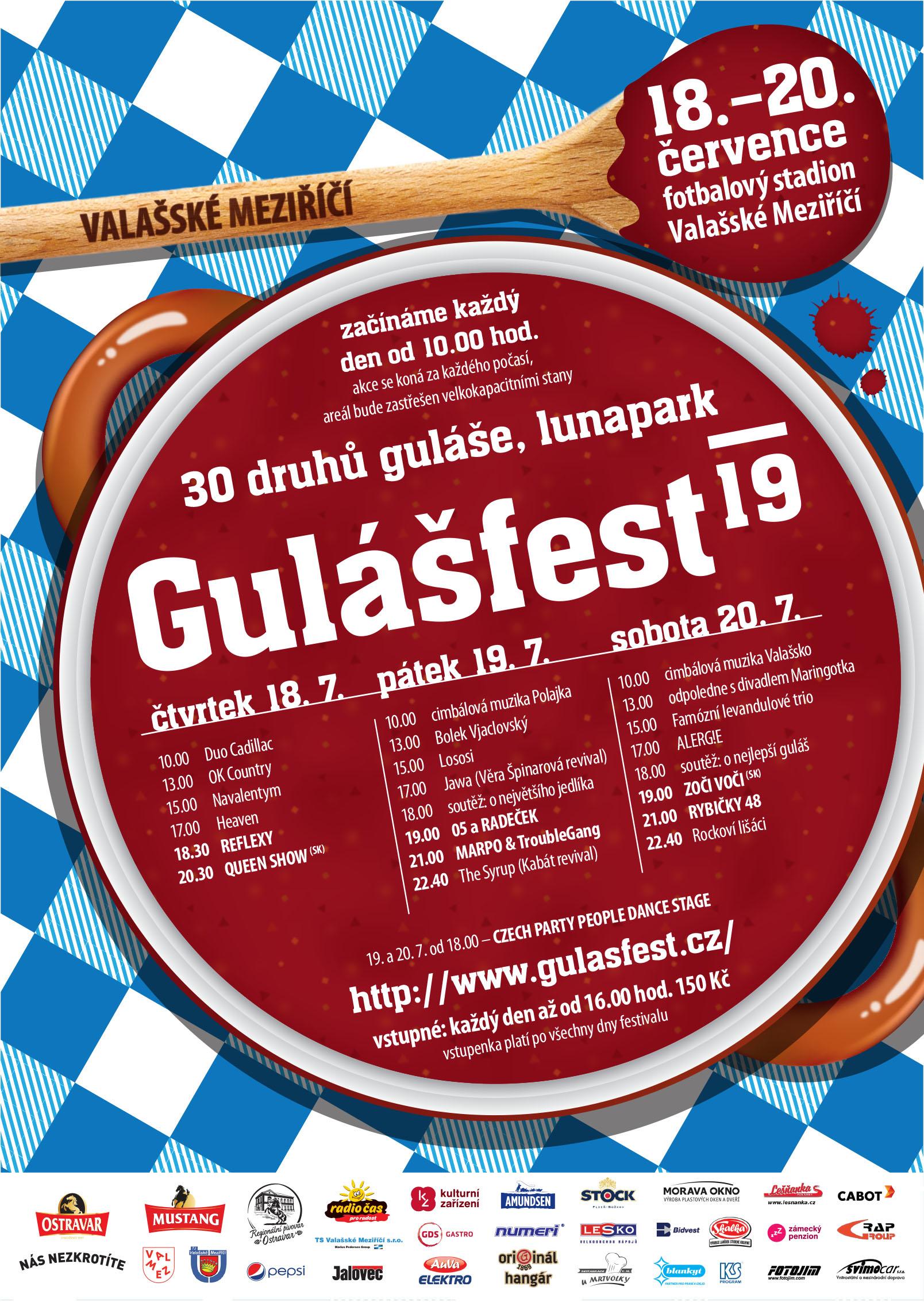 Gulášfest Valašské Meziříčí